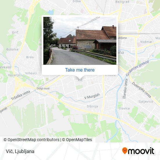 Vič map