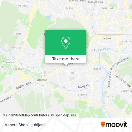 Venera Shop map