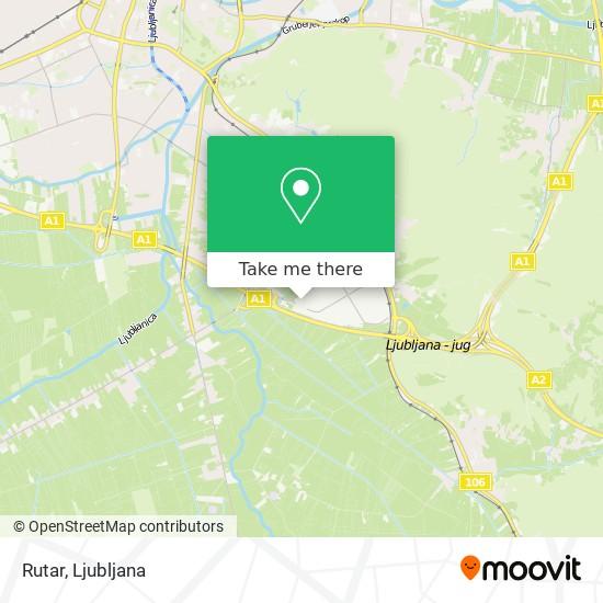 Rutar map