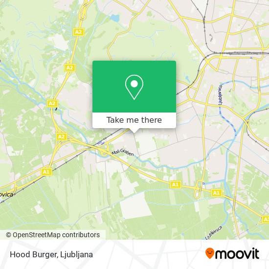 Hood Burger map