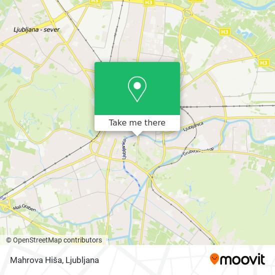 Mahrova Hiša map