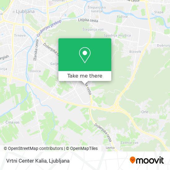 Kalia map
