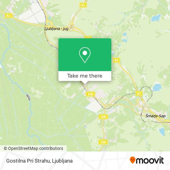 Gostilna Pri Strahu map
