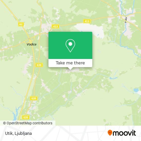 Utik map