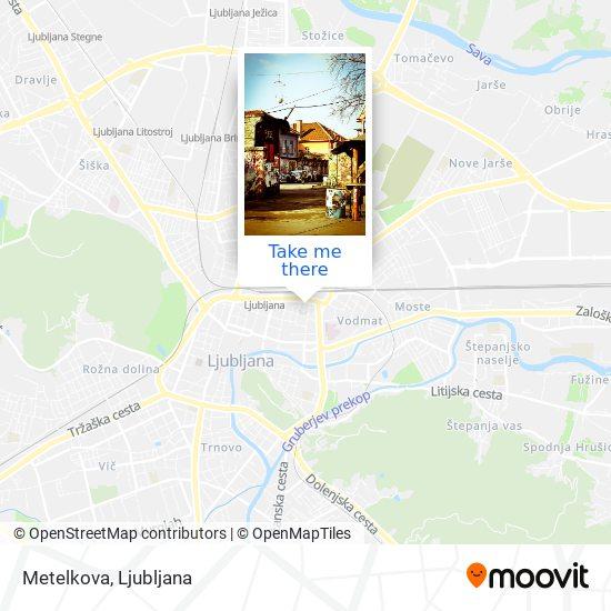 Metelkova map