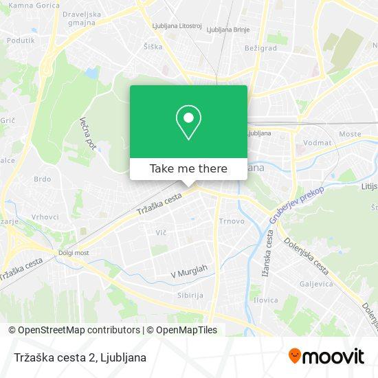 Tržaška cesta 2 map