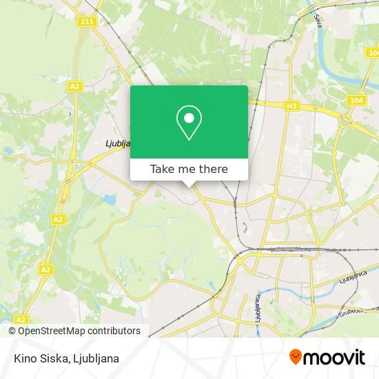 Kino Siska map