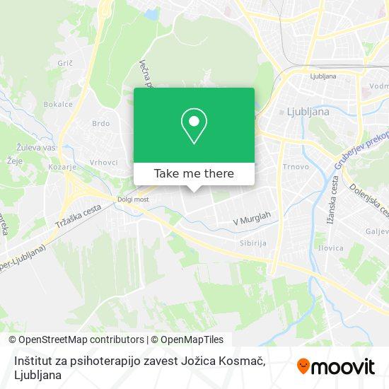 Inštitut za psihoterapijo zavest Jožica Kosmač map