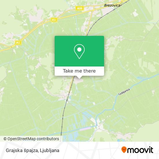 Grajska špajza map