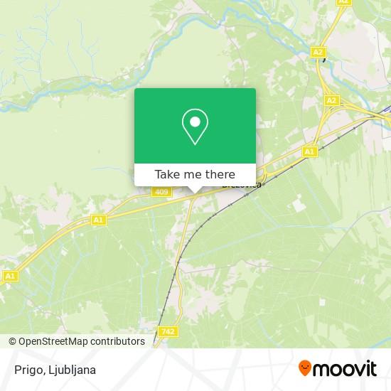Prigo map