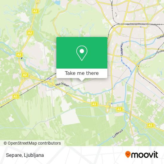 Separe map