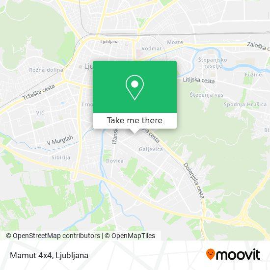 Mamut 4x4 map