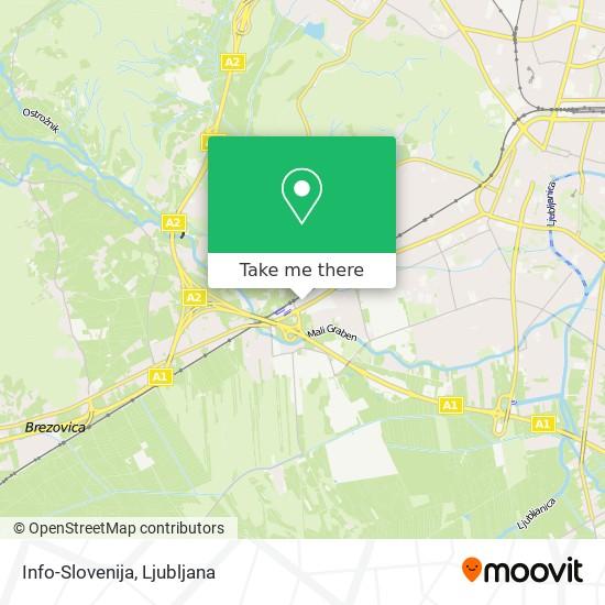 Info-Slovenija map