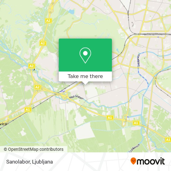 Sanolabor map