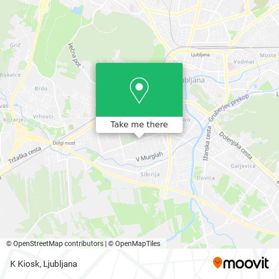K Kiosk map