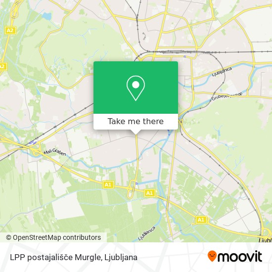 LPP postajališče Murgle map