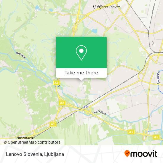 Lenovo Slovenia map
