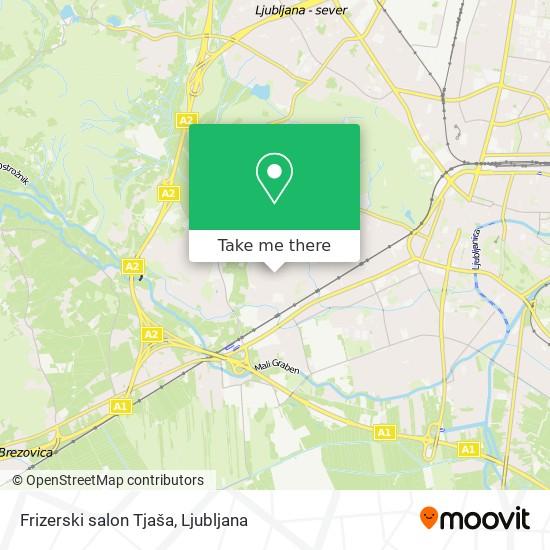 Frizerski salon Tjaša map