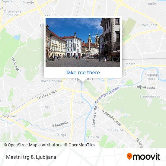 Mestni trg 8 map