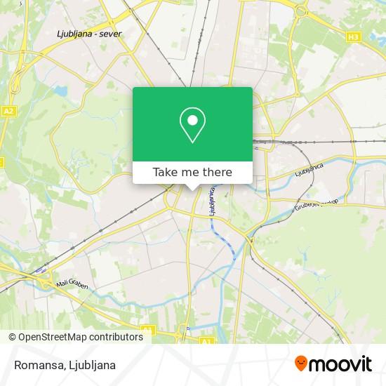 Romansa map