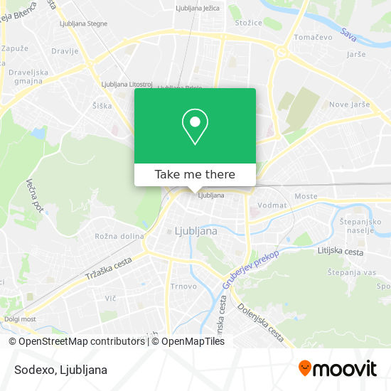 Sodexo map
