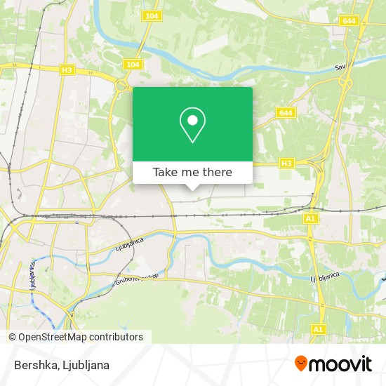 Bershka map