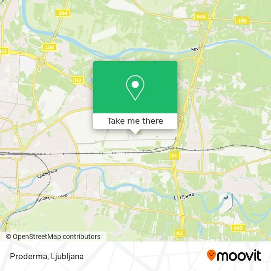 Proderma map