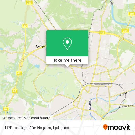 LPP postajališče Na jami map