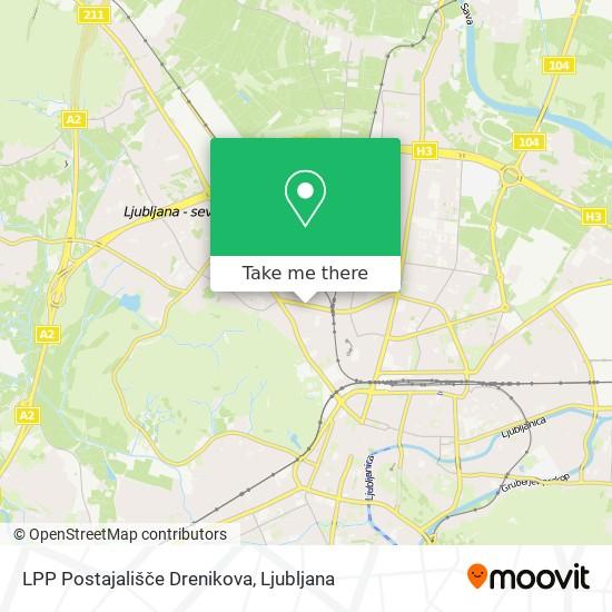 LPP Postajališče Drenikova map