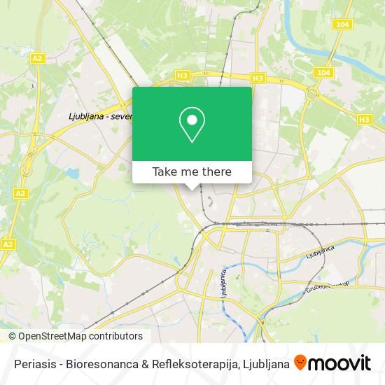 Periasis - Bioresonanca & Refleksoterapija map