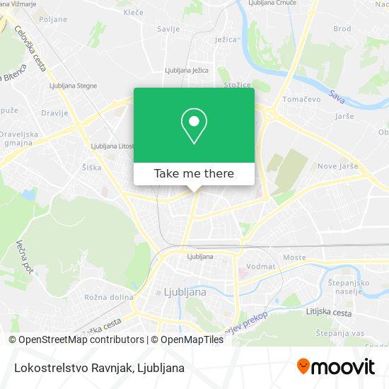 Lokostrelstvo Ravnjak map