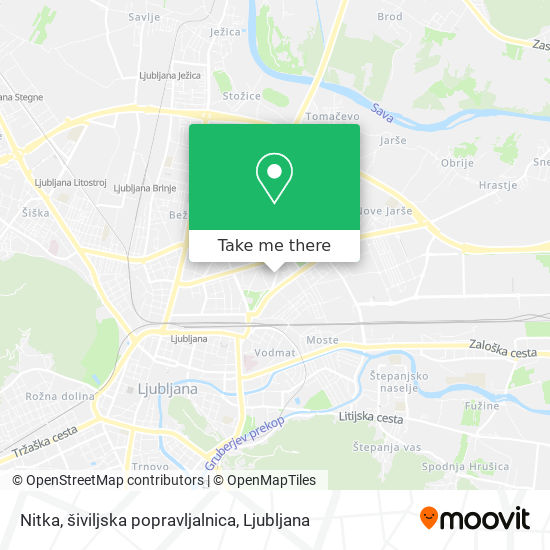 Nitka, šiviljska popravljalnica map