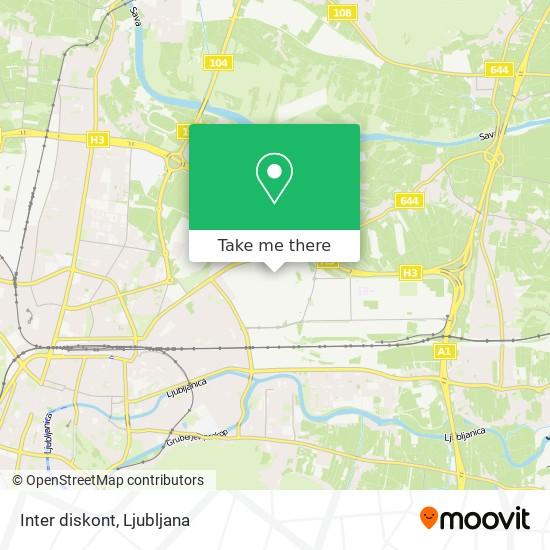 Inter diskont map