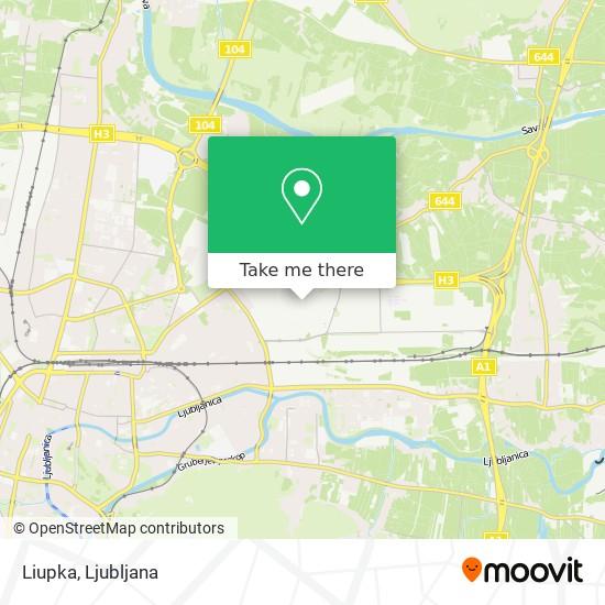 Liupka map