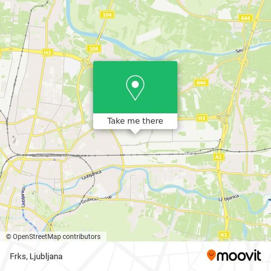 Frks map