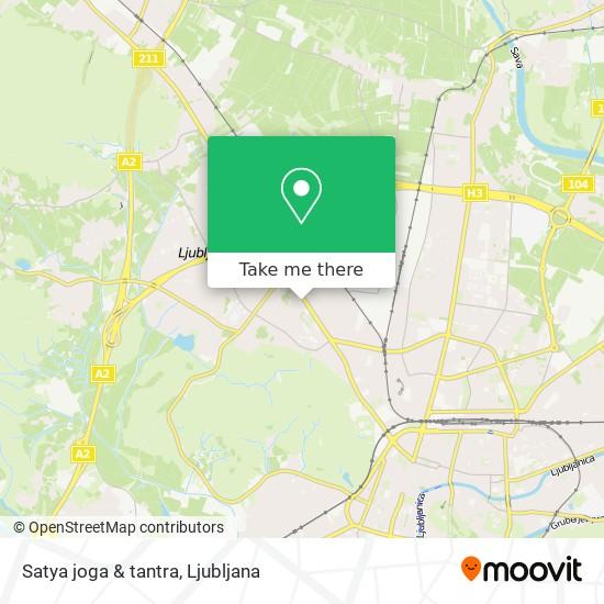 Satya  joga & tantra map
