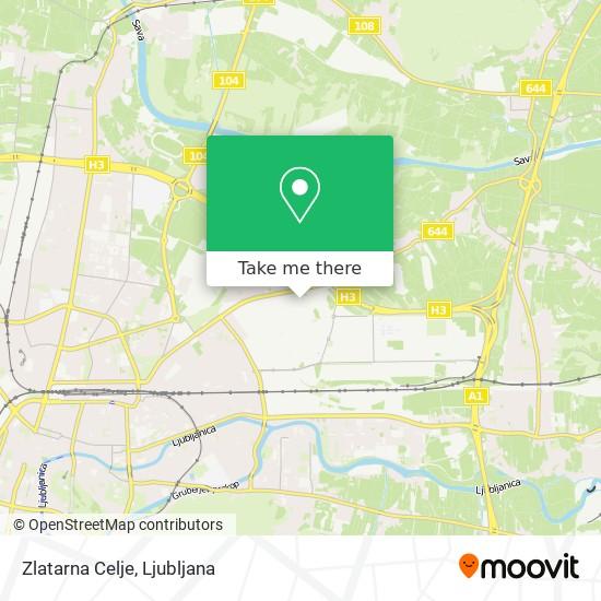 Zlatarna Celje map