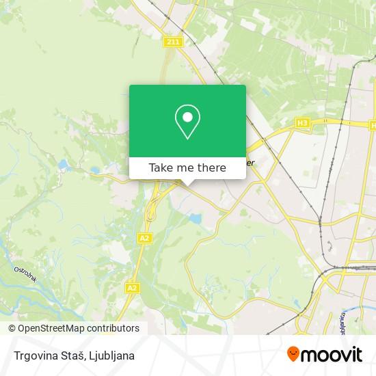 Trgovina Staš map