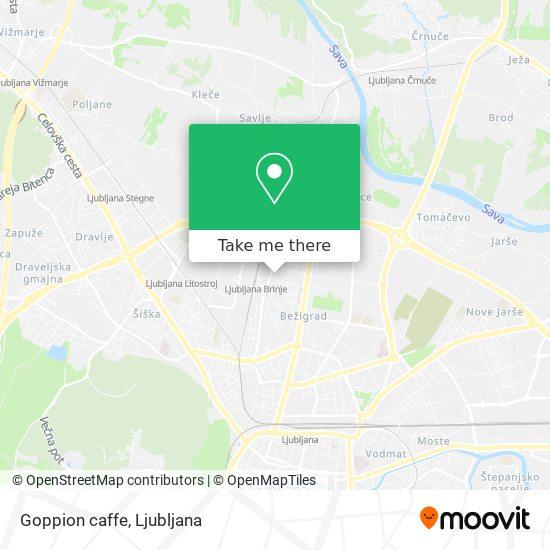 Goppion caffe map