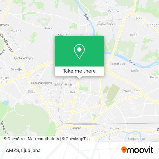 AMZS map