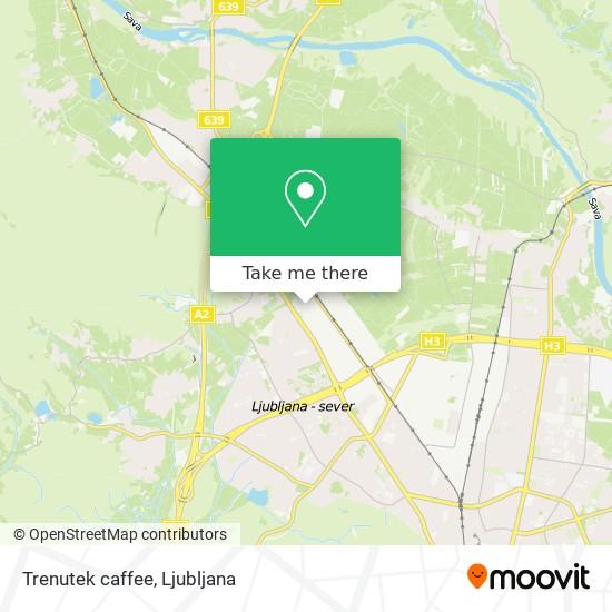 Trenutek caffee map