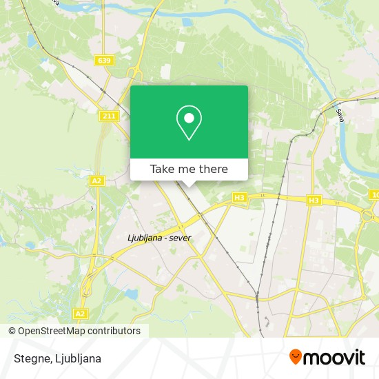 Stegne map