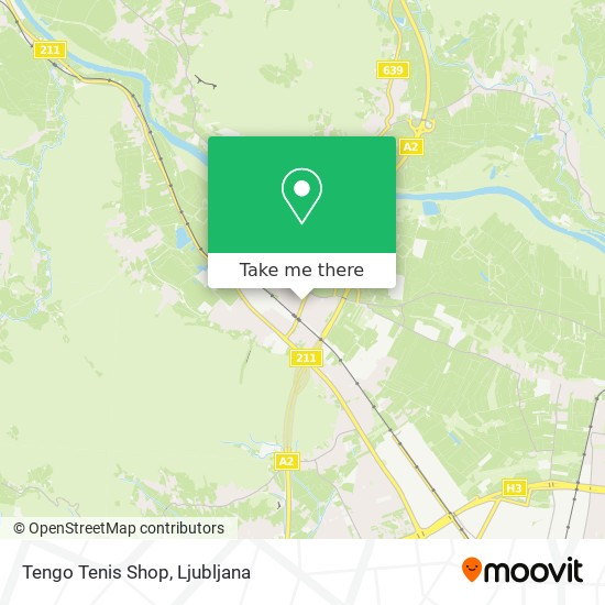 Tengo Tenis Shop map
