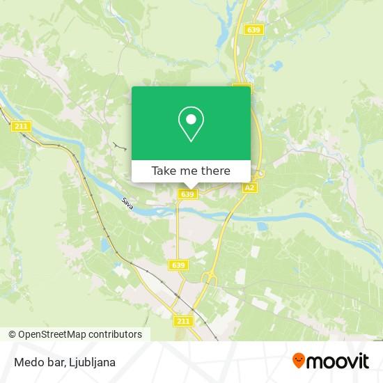 Medo bar map