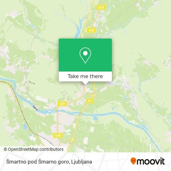 Šmartno pod Šmarno goro map
