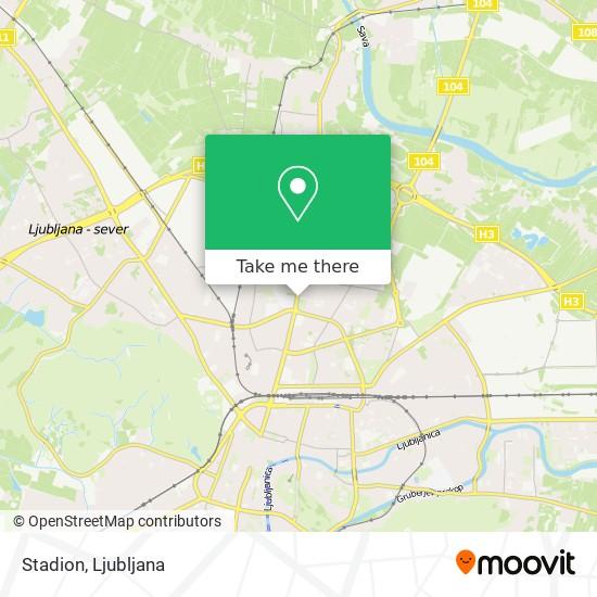 Stadion map