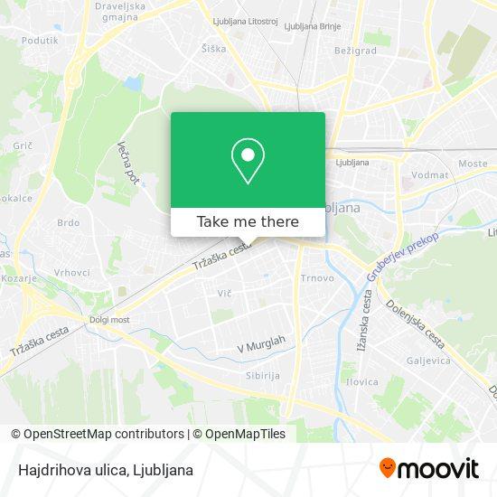 Hajdrihova ulica map