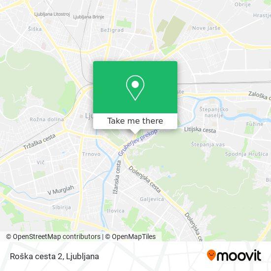 Roška cesta 2 map