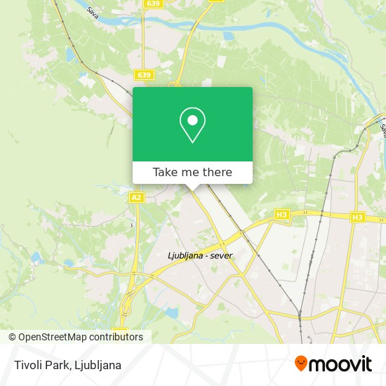 Tivoli Park map