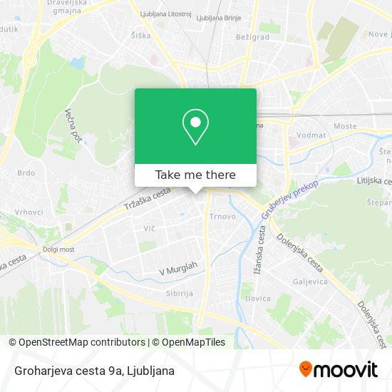 Groharjeva cesta 9a map